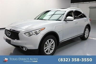 2017 Infiniti QX70  Texas Direct Auto 2017 Used 3.7L V6 24V Automatic AWD SUV Premium Bose