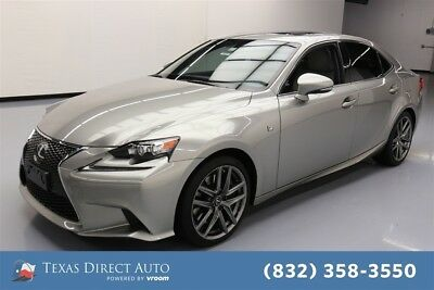 2015 Lexus IS  Texas Direct Auto 2015 Used 3.5L V6 24V Automatic RWD Sedan Moonroof Premium