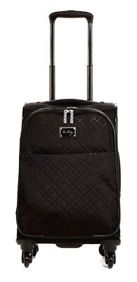 Vera Bradley Rolling Luggage 22 inch Spinner Carry-On Classic Black NWT