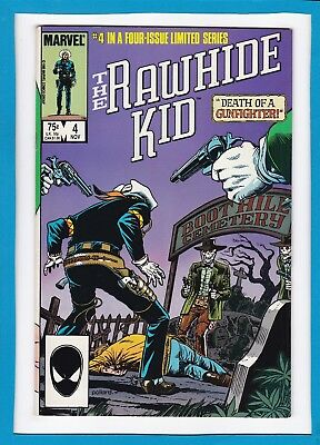 "Rawhide Kid #4_Nov 1985_Very Good_""the Legend Lives On""_Marvel Western!"