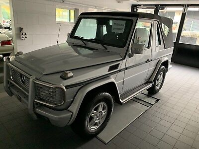2006 Mercedes-Benz G-Class G-500 Cabriolet 2006 G-500 Cabriolet! 23,437 original miles! Complete Service History Since New!