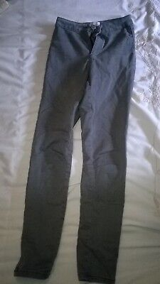 Miss Selfridge Denim Grey Jeans Size 6 Petite (Girls)