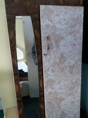 Art Deco Style Wardrobe upcycle project 60s/70s era 5ft 6x2 preston pr2 6dp