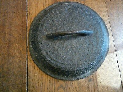 Civil War Era Cast Iron Pot Lid