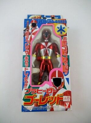 '99 Yutaka Sentai GoGo Five Metallic Red NMIB Power Rangers Lightspeed Rescue