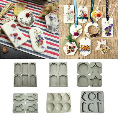 3D Candle Aroma Wax Tablet Silicone Mold Handmade Soap Mould Cake Decor DIY