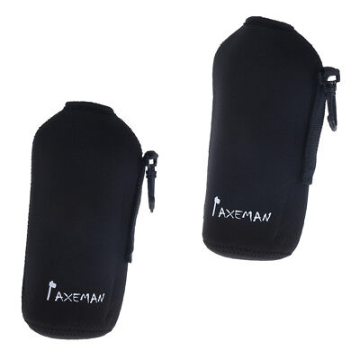 2pcs Outdoor Insulated Neoprene Water Bottle Holder Carry Pouch for Cycling