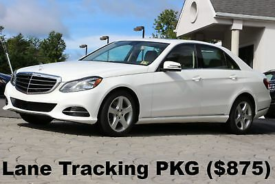 2016 Mercedes-Benz E-Class E350 4Matic Luxury PKG 2016 Lane Tracking PKG Premium I PKG Luxury PKG Polar White Auto AWD Like New