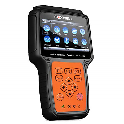 FOXWELL NT650 Automotive Code Reader Obd2 Scanner Service Reset Car Special Scan