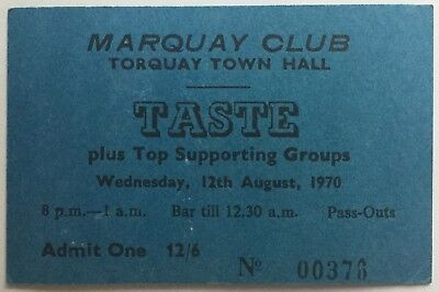 Taste Mk 2 (1968-1970) - Page 20 Taste-Rory-Gallagher-Original-Genuine-Concert-Ticket-Town