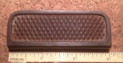1940s STEEL GUITAR SLIDE TONE BAR FLAT CROSSHATCH GRIP USED BUT NOT ABUSED #4