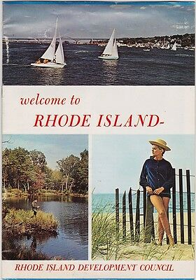 1970 Rhode Island State Tourism Booklet