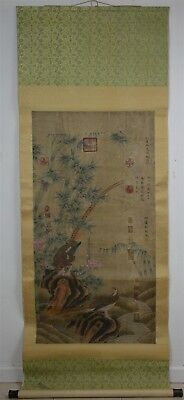 Superb Large Chinese Painting Scroll Signed Master Wen Tong No Reserve A6776
