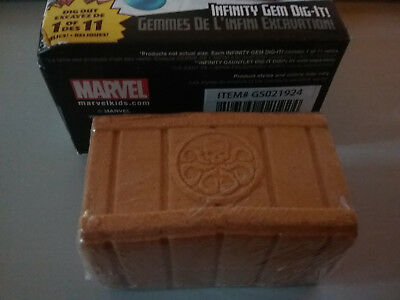 MARVEL Marvel Dig It Infinity Gem Hydra sand crate UNDUG  NEW