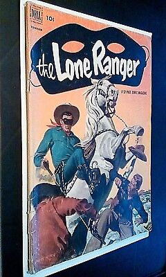 Dell Comics The Lone Ranger #53 Good Condition 52 Page 1952