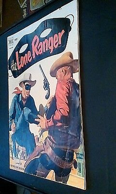 Dell Comics The Lone Ranger #52 Good Condition 52 Page 1952
