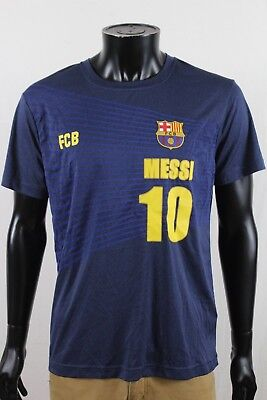the best attitude 7534f c0523 FCB LIONEL MESSI Jersey Shirt | Barcelona 100% Polyester | Mens Large