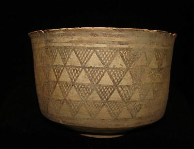 GOING OUT BUSINESS SALE! LARGE!  ANCIENT PAINTED BOWL-JUG!  3000BC~~~no reserve