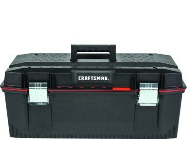 CRAFTSMAN PRO 28-in Red Plastic Tool Box Brand New