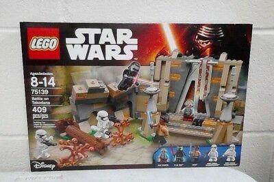 Lego 75139 Star Wars Battle on Takodana Complete Set Minifigures Manual