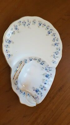 Royal Albert Memory Lane Tennis Set Cup Plate VGC