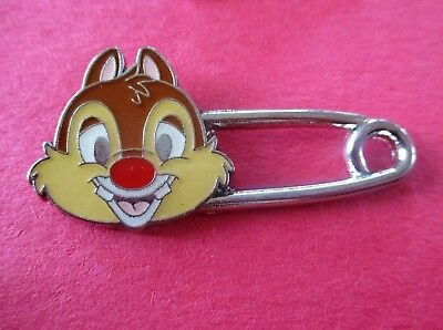 Dale (Chip & Dale) Safety Pin Hong Kong Disneyland - Disney Pin