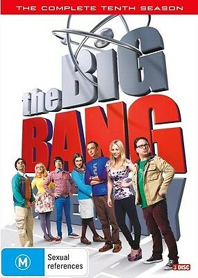 The BIG BANG THEORY : Season 10 : NEW DVD