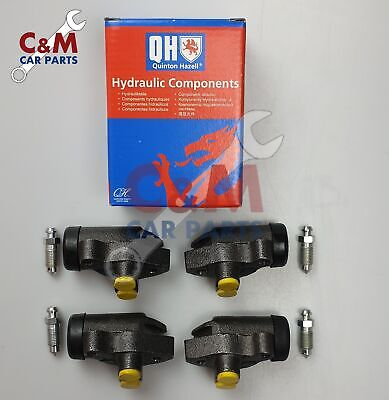 FORD Cortina Mk1 FRONT /& REAR BRAKE WHEEL CYLINDERS CLIPS GAITERS BOOTS x6