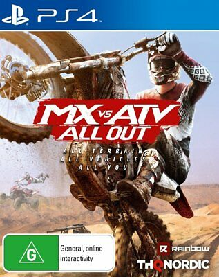 MX VS ATV ALL OUT Playstation 4 (PS4) - Brand New Sealed