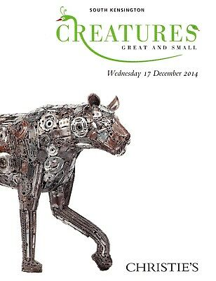 CREATURES - OBJEKTE AUS  DEM TIERREICH: Christie's London 14 +results