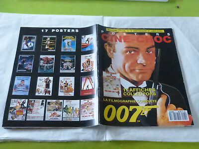 James Bond - Mega Rare Mint French Special Issue 17 Posters Mag!!!!!!!!!!!!!!!