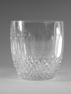 """WATERFORD Crystal - COLLEEN Cut - 9oz Tumbler Glass / Glasses - 3 3/8"""""""