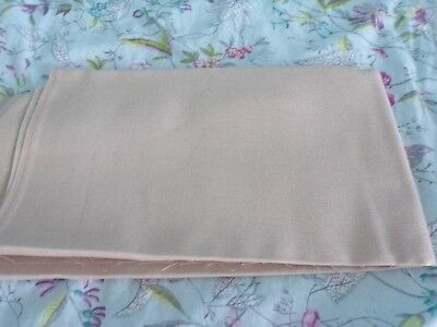 **Large Piece of 32 Count Beige Evenweave 66 x 53.5 cm **