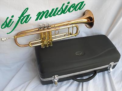 S.J.J.New York Brass Tromba tipo Vintage Relic x Jazz Band Orchestra session NEW