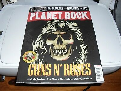 Planet Rock Magazine ISSUE 9 GUNS N ROSES  NEW OUT MAGAZINE NO ONE DIED