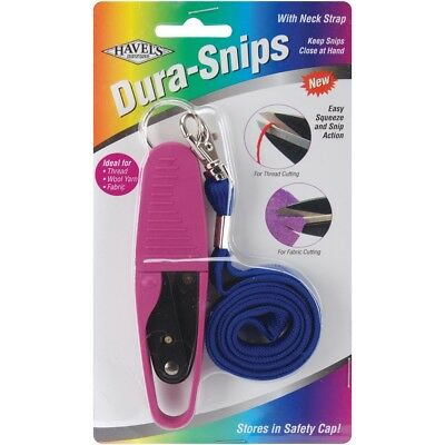 "Havel's Dura Snips Squeeze-style Thread Snips 4.75""-"