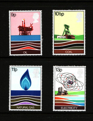 1978 GB, Energy, NH Mint Set of Stamps, SG 1050-3