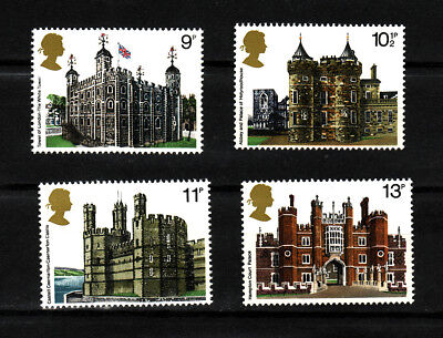 1978 GB, Historic Buildings, NH Mint Set of Stamps, SG 1054-7