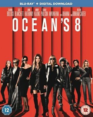 Blu-Ray Oceans 8     Brand New Sealed Uk Stock