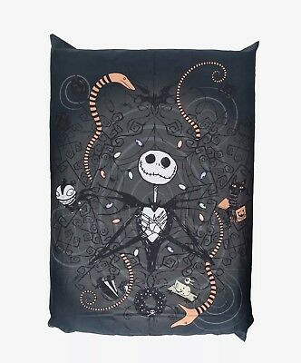 The Nightmare Before Christmas Jack Skellington Snakes Full/queen Duvet Cover