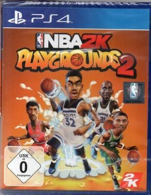NBA 2K - Playgrounds 2 - PlayStation PS4 - deutsch - Neu / OVP