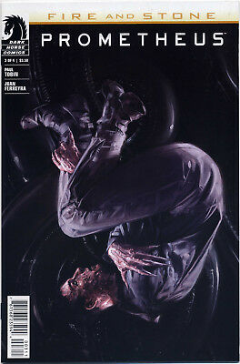 Prometheus Fire And Stone #3 (Dark Horse 2014) Nm First Print Bagged And Boarded