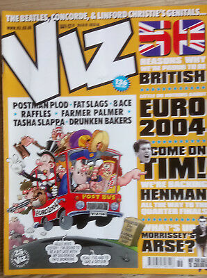 VIZ COMIC    No 136  JULY 2004