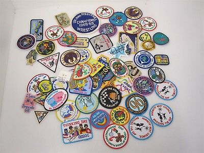 Girl Scouts Patches Lot of 60 - Unused