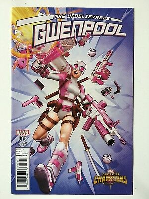 Marvel Gwenpool #13 Contests of Champions Variant Rare NM