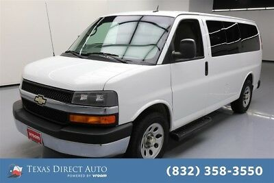 2014 Chevrolet Express LT Texas Direct Auto 2014 LT Used 5.3L V8 16V Automatic RWD Minivan/Van