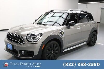 2018 Mini E Countryman Cooper S E Texas Direct Auto 2018 Cooper S E Used Turbo 1.5L I3 12V Automatic AWD SUV