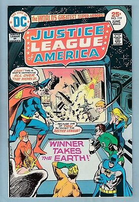 Justice League Of America # 119 Vfn+ (8.5) Glossy High Grade_Cents_50% Off Guide