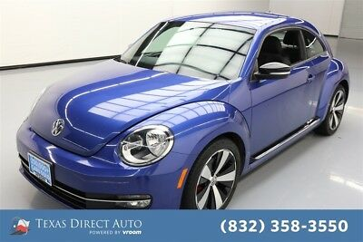 2013 Volkswagen Beetle - Classic Turbo PZEV 2dr Coupe 6M (ends 1/13) Texas Direct Auto 2013 Turbo PZEV 2dr Coupe 6M (ends 1/13) Used Turbo 2L I4 16V