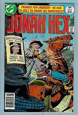 Jonah Hex # 3 Vfn+ (8.5)  Bright & Glossy High Grade - Cents - 60% Off Guide